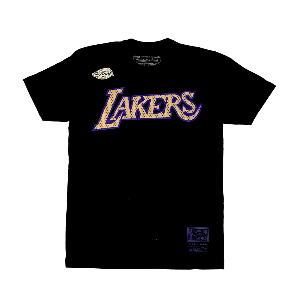 Los Angeles Lakers Gold 2009 Logo Tee