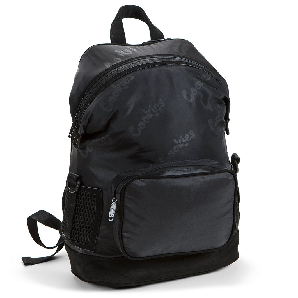 Luxe Satin Smell Proof Backpack (Black)