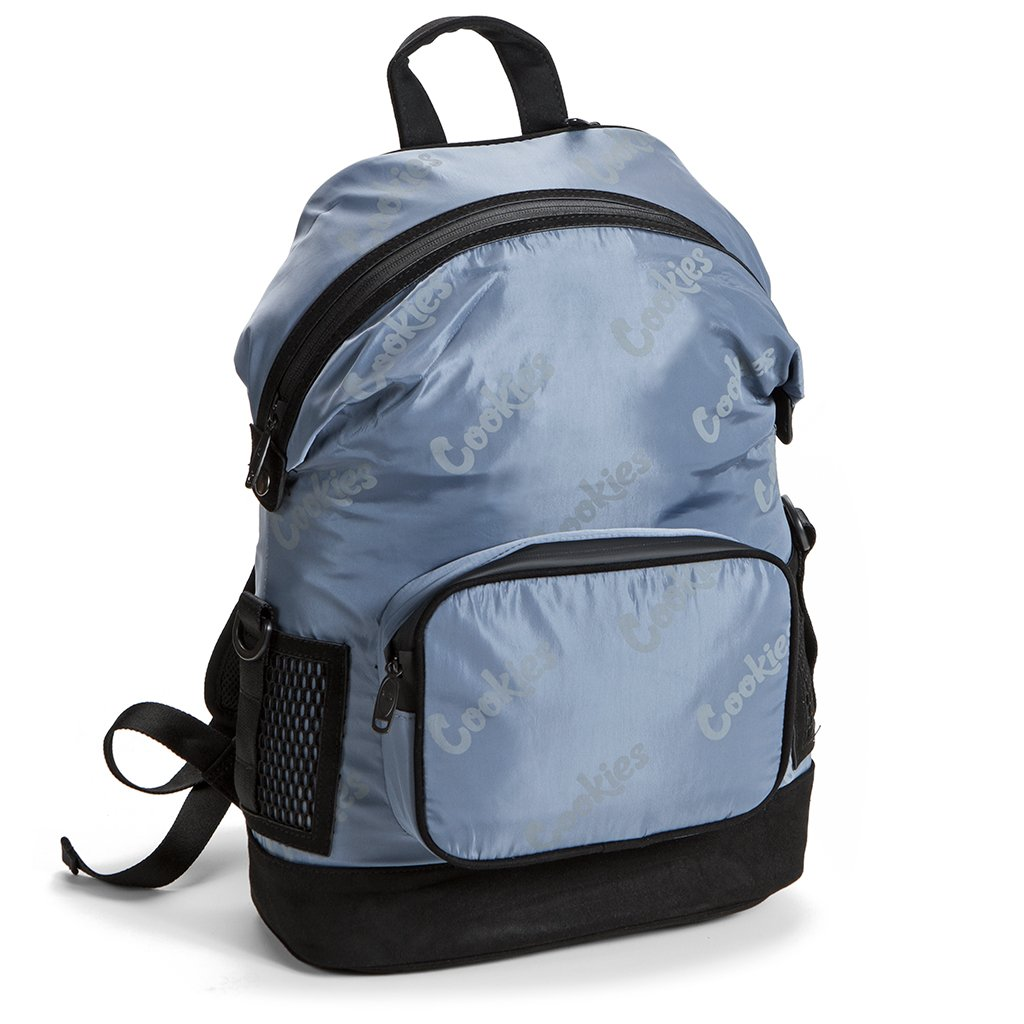 Luxe Satin Smell Proof Backpack (Gray)