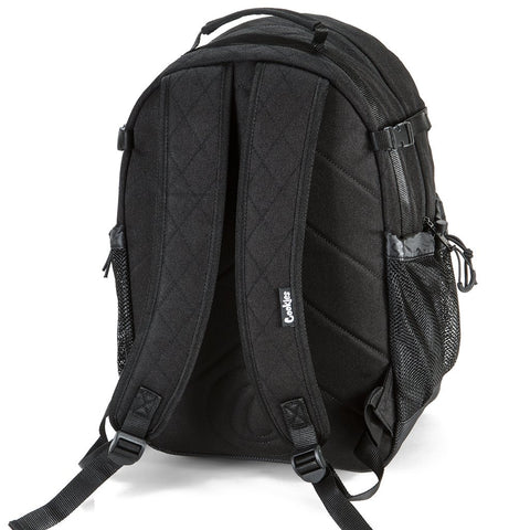 COOKIES SMELL PROOF MESH OVERLAY NYLON BACKPACK (BLACK)