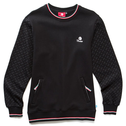 Presidio Fleece Crewneck (Black)