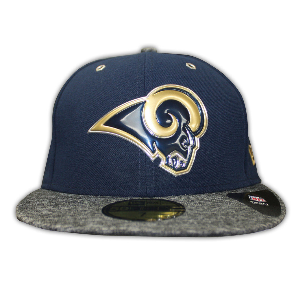 Los Angeles Rams Logo 2 Tone 59FIFTY Fitted Draft16 Hat – West Wear 736a08c77