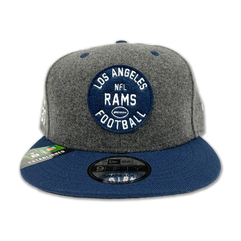 LOS ANGELES RAMS OFFICIAL NFL SIDELINE HOME 9FIFTY SNAPBACK