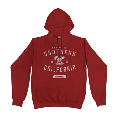 S.C. Athletic Hoody (Burgundy)