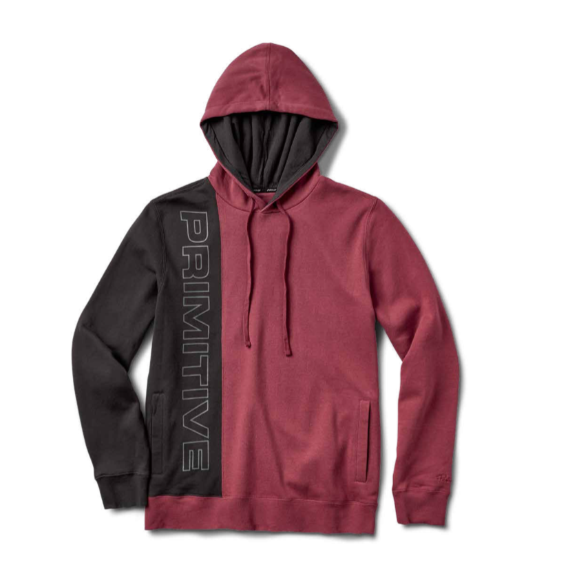 BLOCKS HOOD (Burgundy)