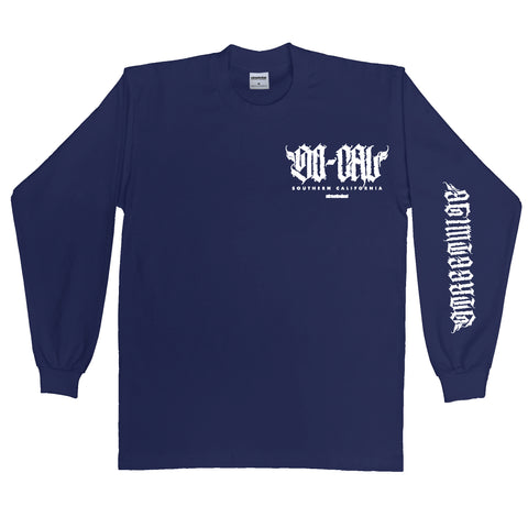 SOCAL-CAPSULE Long Sleeve (Navy)