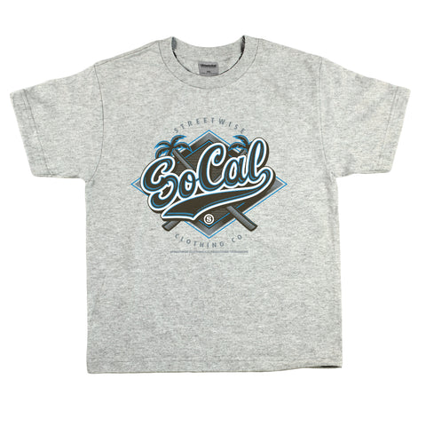 So Cal Team Kids T-Shirt (Gray)