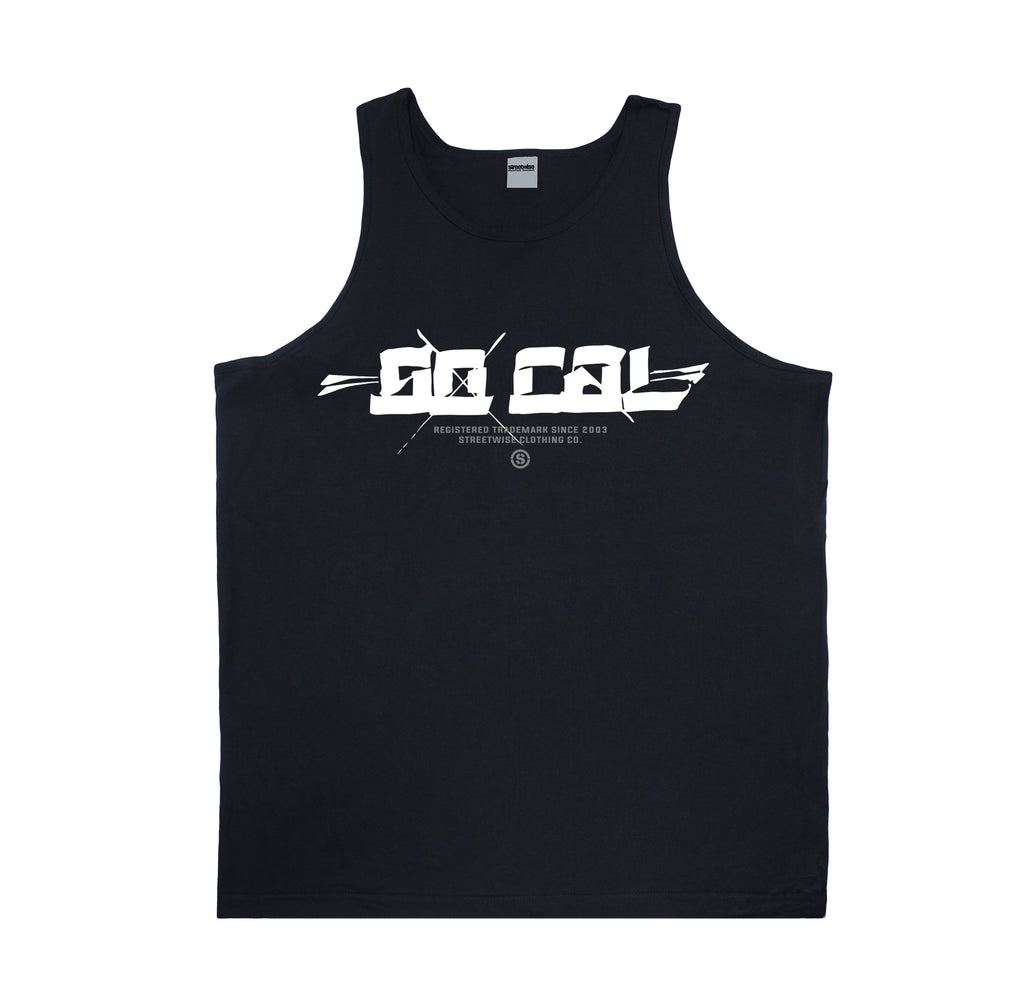 SOCAL-Blocks Tank (Black)