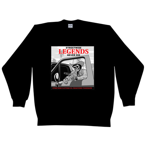 Street Legends Crewneck (Black)