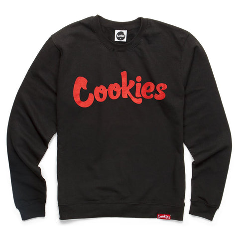 Original Logo Crewneck (Black/Red)