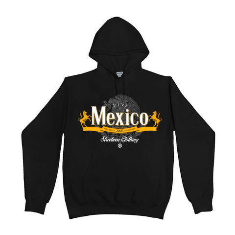 Viva Mexico Hoody (Black)