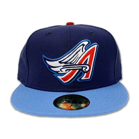 California Angels New Era Navy Cooperstown Collection Wool 59FIFTY Fitted Hat