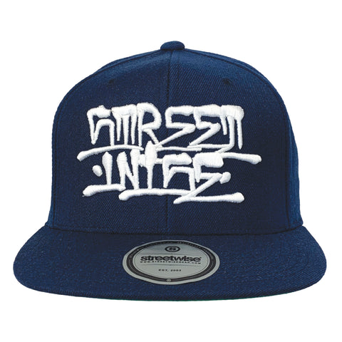 Back Alley Snapback (Navy)