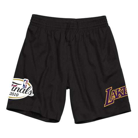 Los Angeles Lakers Finals Pack Mesh Shorts (Black)