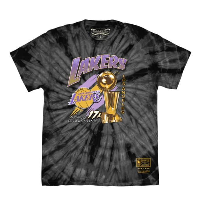 Los Angeles Lakers NBA 17x Trophy TD Tee