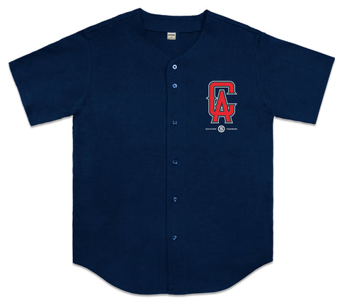 Cali Angels Baseball Jersey (Navy)