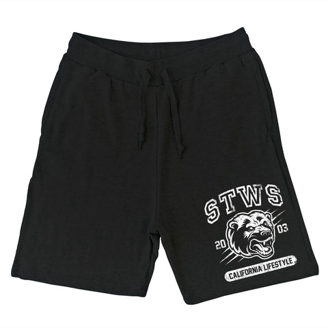 Cali Lifestyle Sweat Shorts (Black)