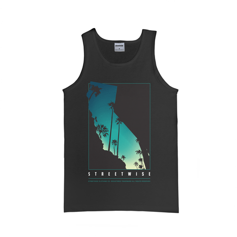 Cali Palms Tank (Black)