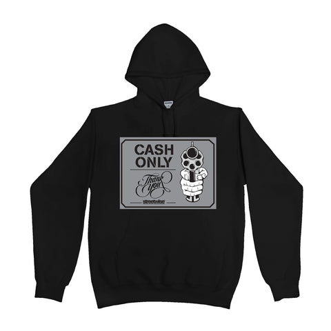 Cash Only Hoody (Black)