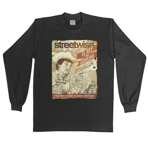 Chalino Long Sleeve (Black)
