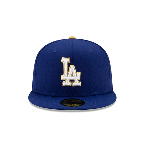 Los Angeles Gold Collection 59Fifty Fitted (Royal)