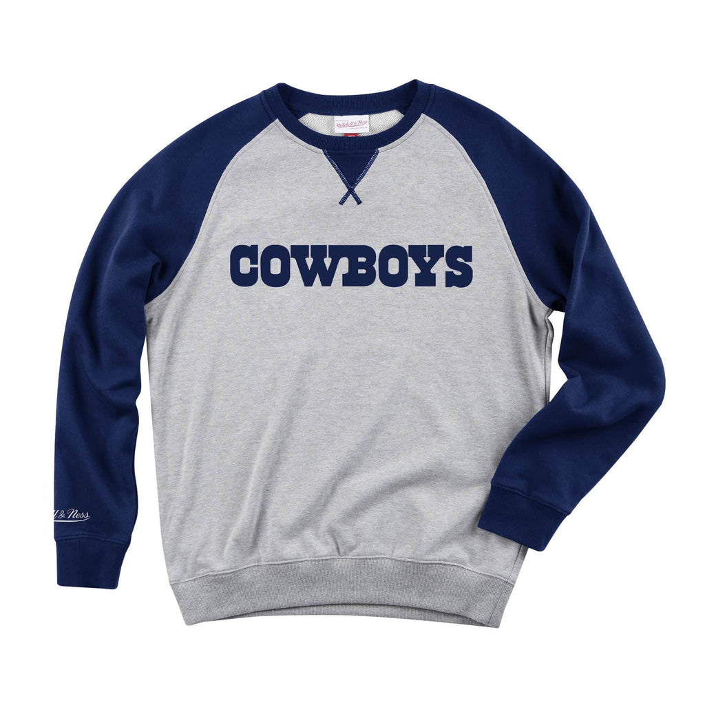 Dallas Cowboys Turf Fleece Crew Neck