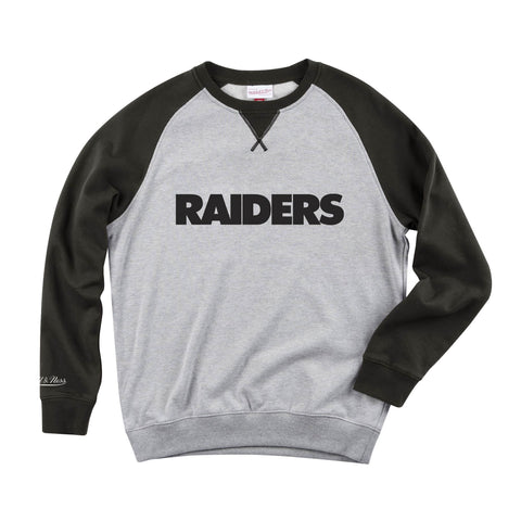 Raiders Turf Fleece Crew Neck
