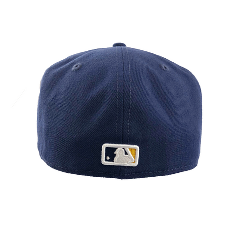Milwaukee Brewers New Era 59FIFTY Fitted Cap (Navy)