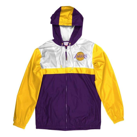 Los Angeles Lakers Margin Of Victory Windbreaker Jackets