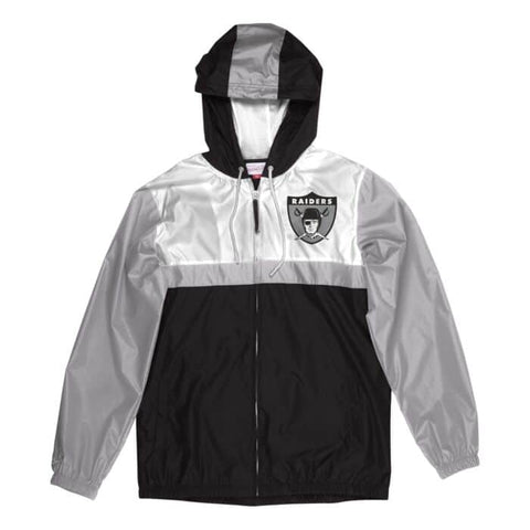 Raiders Margin Of Victory Windbreaker Jackets