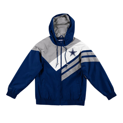 Dallas Cowboys Asymmetrical Blocked Jacket