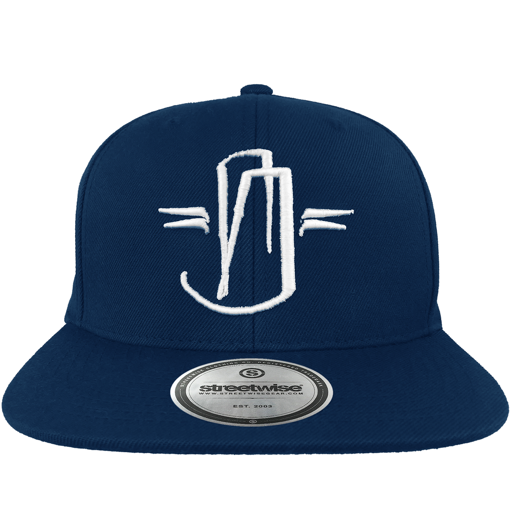 Hit Up Snapback (Navy)