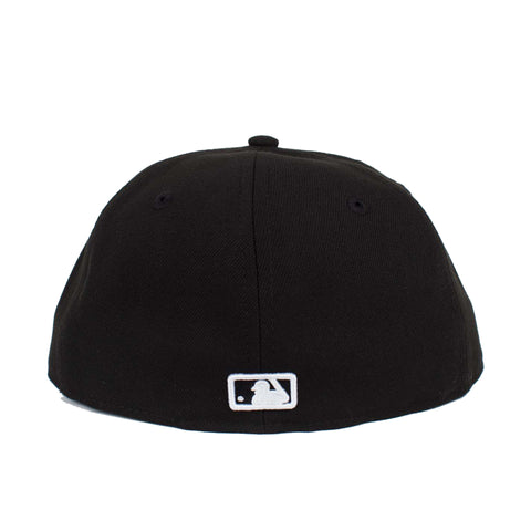 Los Angeles Dodgers Arch Script 59Fifty Fitted (Black)