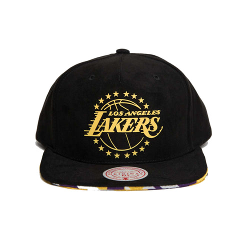 Los Angeles Lakers LA Lux  Snapback (Black)