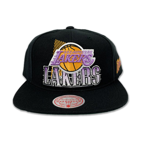 Los Angeles Lakers Razor Halfstone Deadstock Snapback HWC