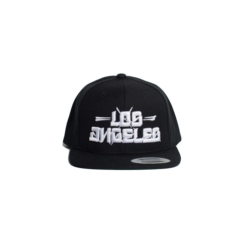 Los Blocks Snapback (Black)