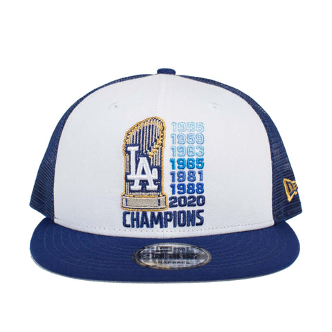 Los Angeles Dodgers Tittles 9Fifty Trucker Snapback (Royal/White)
