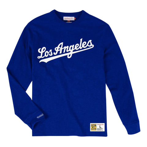Los Angeles Dodgers Slub Long sleeve (Royal)