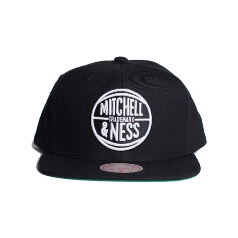 Mitchell & Ness M&N Circle Snapback (Black)