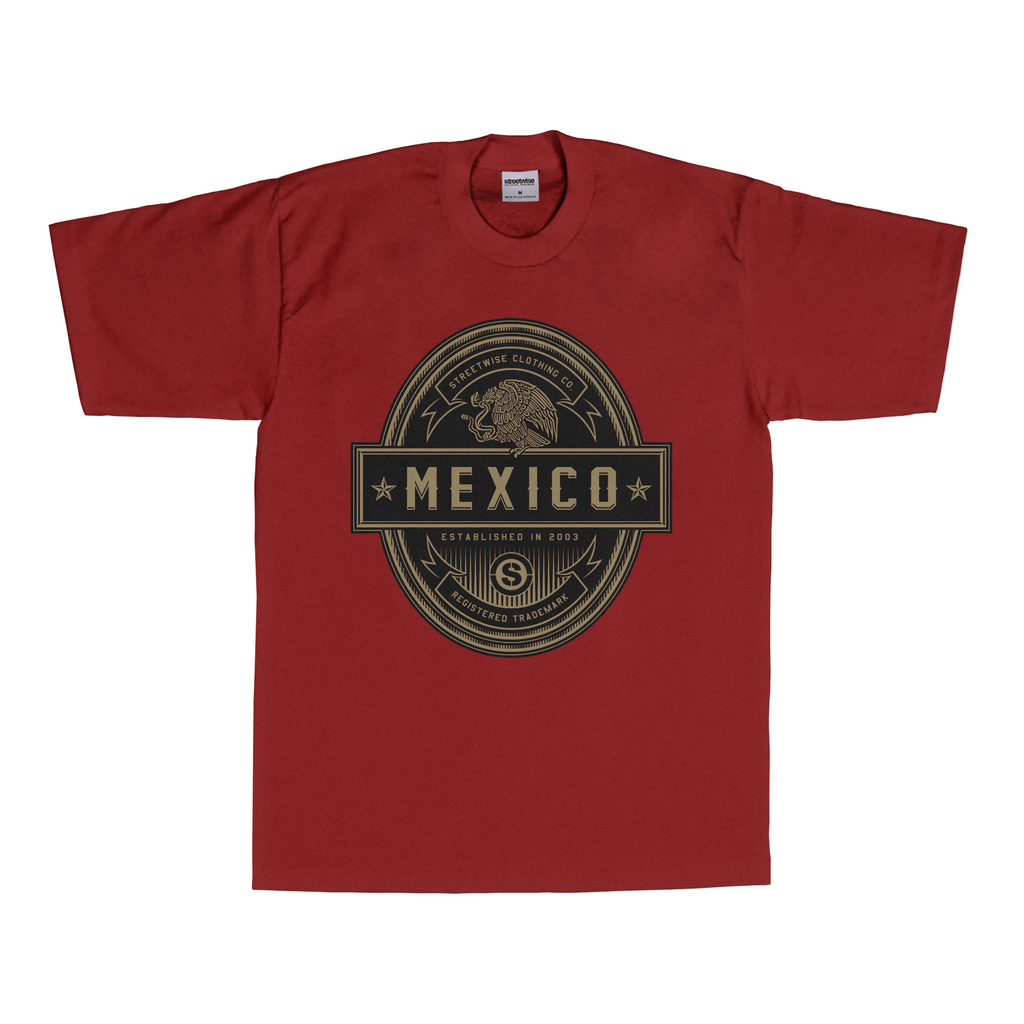 Mex Shield (Burgundy)