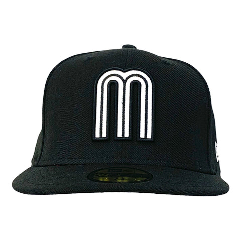 Mexico 2017 World Baseball Classic 59FIFTY Cap (Black/White)
