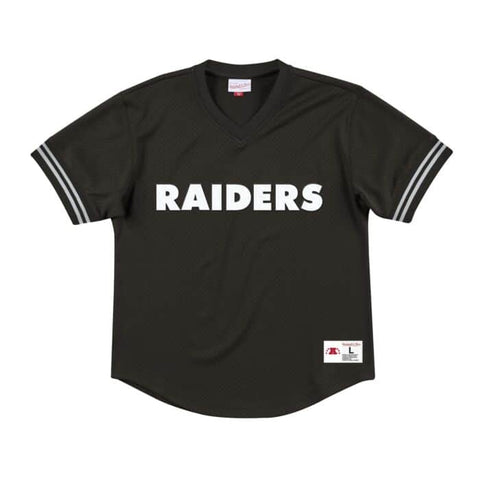 Raiders Championship Game Mesh V-Neck