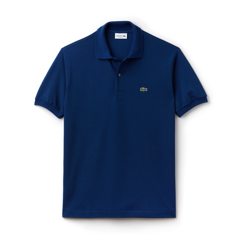 Men's Classic Piqué Polo (Navy)
