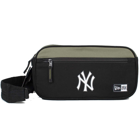 New York Yankees Cross Body Bag (Black/OLive)