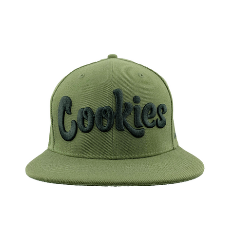 Thin Mint Snapback (Olive/Black)
