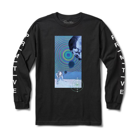 SPIRIT PLAIN LONG SLEEVE TEE (BLACK)