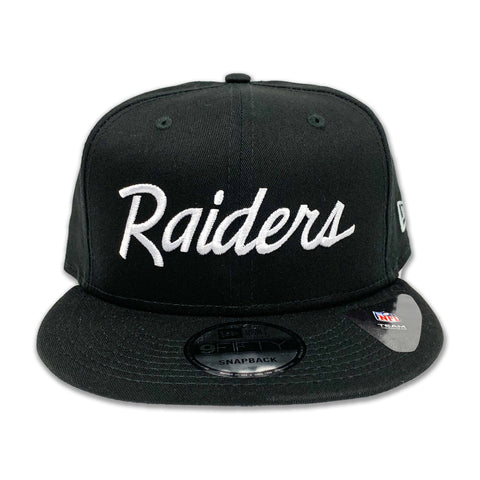 Oakland Raiders 9Fifity Basic Script Snapback
