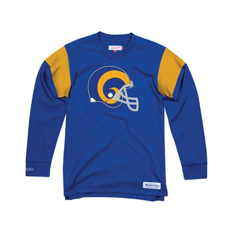Los Angeles Rams Team Captain V-Neck L/S