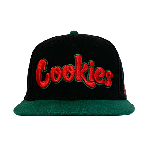 Front Runner Snapback (Black/Green)