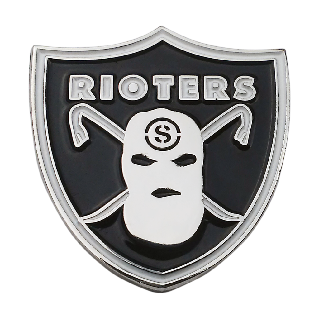 Rioters Enamel Pin